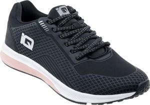 Granatowe buty sportowe Iq sznurowane z płaską podeszwą