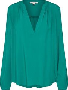 Zielona bluzka Esprit z długim rękawem