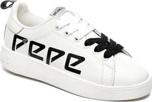 Sneakersy Pepe Jeans Footwear sznurowane