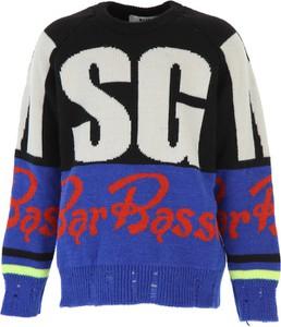 Sweter MSGM z jedwabiu