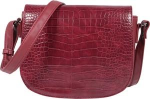 Czerwona torebka Tom Tailor w stylu retro średnia