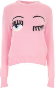 Różowy sweter Chiara Ferragni