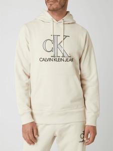 Bluza Calvin Klein z nadrukiem z bawełny