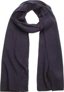 Niebieski szalik Calvin Klein z wełny