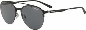amazon.de Arnette męskie okulary przeciwsłoneczne 0AN3075 696/87, czarne (Black Rubber/Grey), 57