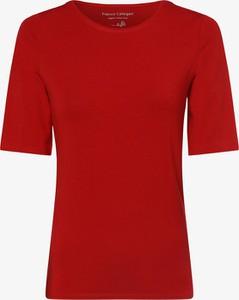 Czerwony t-shirt Franco Callegari z krótkim rękawem