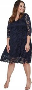 Czarna sukienka Junarose z długim rękawem