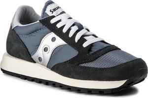 Buty sportowe Saucony sznurowane z zamszu w sportowym stylu
