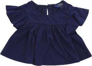 Bluzka dziecięca POLO RALPH LAUREN bez rękawów z bawełny