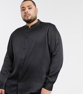 Czarna koszula Asos z długim rękawem