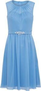Błękitna sukienka mascara