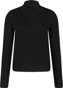 Czarny sweter Guess Jeans w stylu casual z wełny