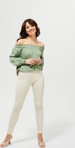 Spodnie Moodo z bawełny w stylu casual
