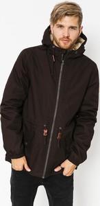 Brązowa kurtka Element z bawełny
