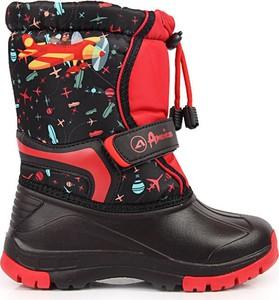 Buty dziecięce zimowe American Club sznurowane