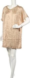 Sukienka YAMAMAY z okrągłym dekoltem z krótkim rękawem