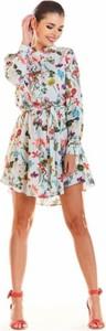Sukienka Infinite You z długim rękawem mini