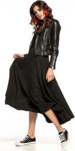 Czarna spódnica Tessita midi