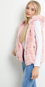 Różowa kamizelka Olika w stylu casual