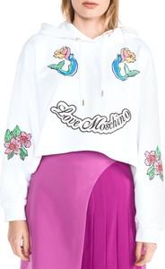 Bluza Love Moschino z bawełny w młodzieżowym stylu