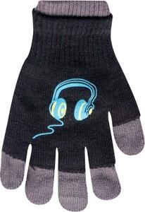 Granatowe rękawiczki YoClub