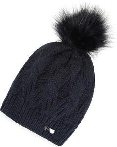 Granatowa czapka Wittchen