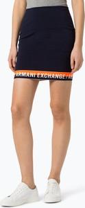 Granatowa spódnica Armani Jeans mini w stylu casual