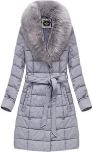 Niebieski płaszcz Libland