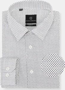 Koszula Pako Lorente z długim rękawem z klasycznym kołnierzykiem z tkaniny