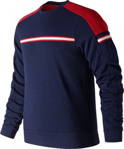 Niebieska bluza New Balance z bawełny