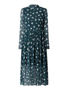 Sukienka Tom Tailor Denim z okrągłym dekoltem midi