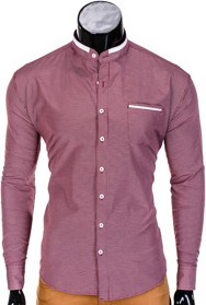Fioletowa koszula ombre clothing
