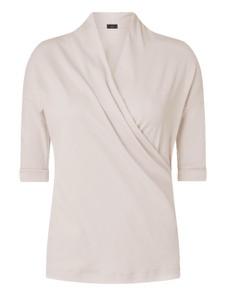 Bluzka Marc Cain z bawełny w stylu casual z krótkim rękawem