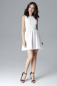 Sukienka Katrus mini z okrągłym dekoltem