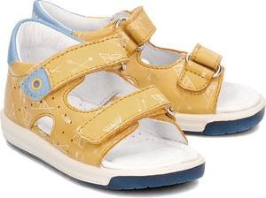 Buty dziecięce letnie Naturino na rzepy