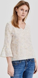 Bluzka Opus z bawełny w stylu casual