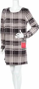 Sukienka Thakoon For Design Nation z długim rękawem mini z okrągłym dekoltem