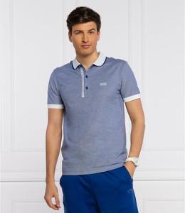 Niebieska koszulka polo Hugo Boss