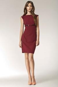 Sukienka NIFE dopasowana mini