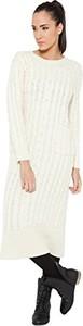 Sukienka Tantra z długim rękawem z okrągłym dekoltem
