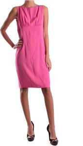 Różowa sukienka Dsquared2 bez rękawów
