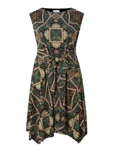 Zielona sukienka Apricot + bez rękawów w stylu casual mini