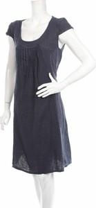 Granatowa sukienka William De Faye mini