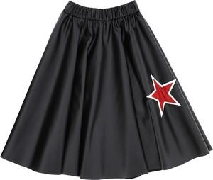 Czarna spódniczka dziewczęca Monnalisa