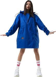 Niebieska kurtka REST FACTORY w stylu casual krótka
