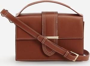 Brązowa torebka Reserved na ramię