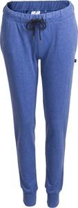 Niebieskie spodnie sportowe Outhorn z dzianiny