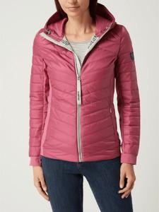 Różowa kurtka Dolomite krótka w stylu casual