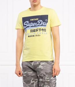 T-shirt Superdry z bawełny z krótkim rękawem