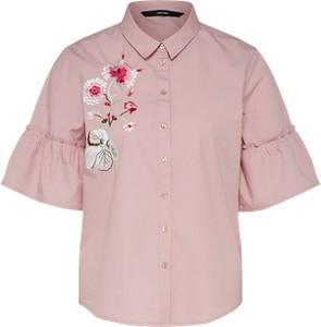Koszula vero moda z bawełny z krótkim rękawem